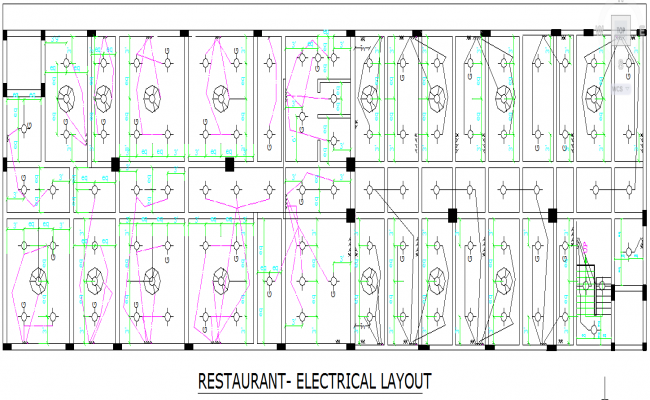 Hotel Electric Lay-out