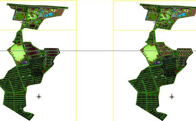 Town planning master plan