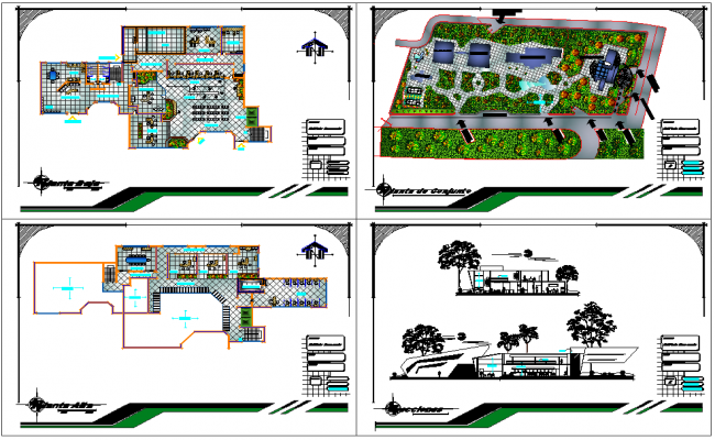 Bank Building plan