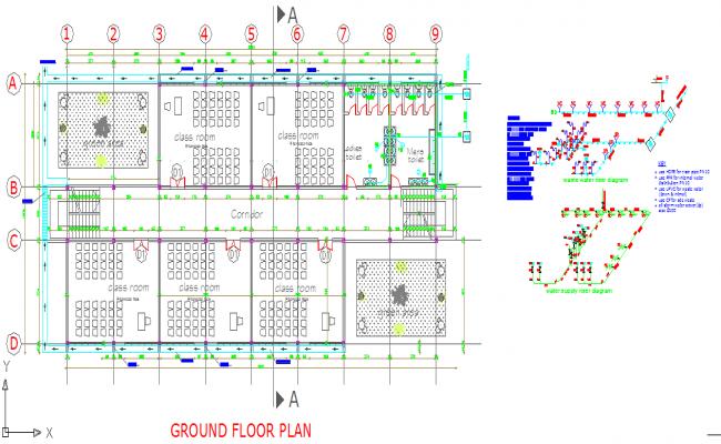 Standard School Floor Plan