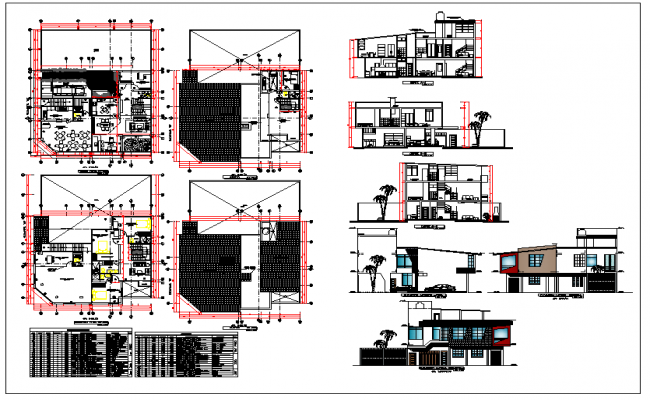 Family House design plan