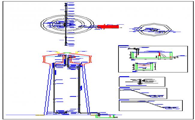 Hydraulic Reservoir drawing