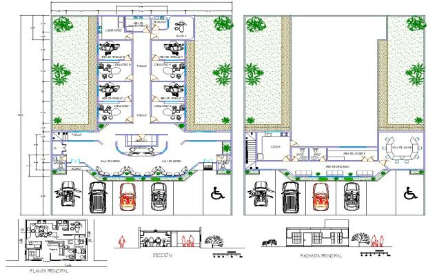 Hospital architecture design