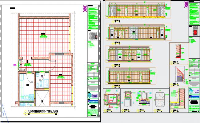 Flat Layout Design