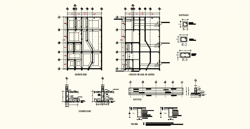 Dental clinic detail drawing in dwg AutoCAD file.