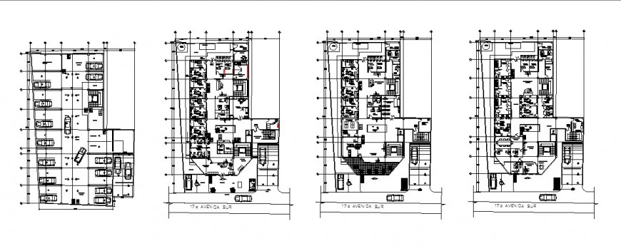 Dental hospital working layout plan in dwg AutoCAD file.
