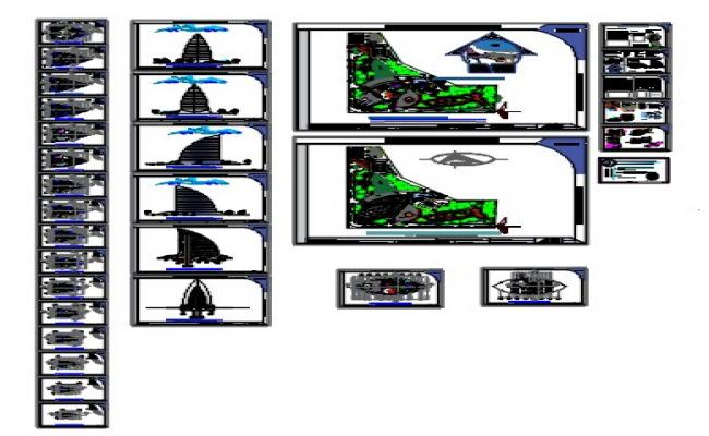 department Building dwg.file