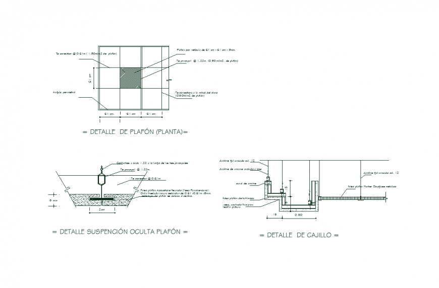 Design with a view of area and view with plan and elevation with foundation area view the dwg file