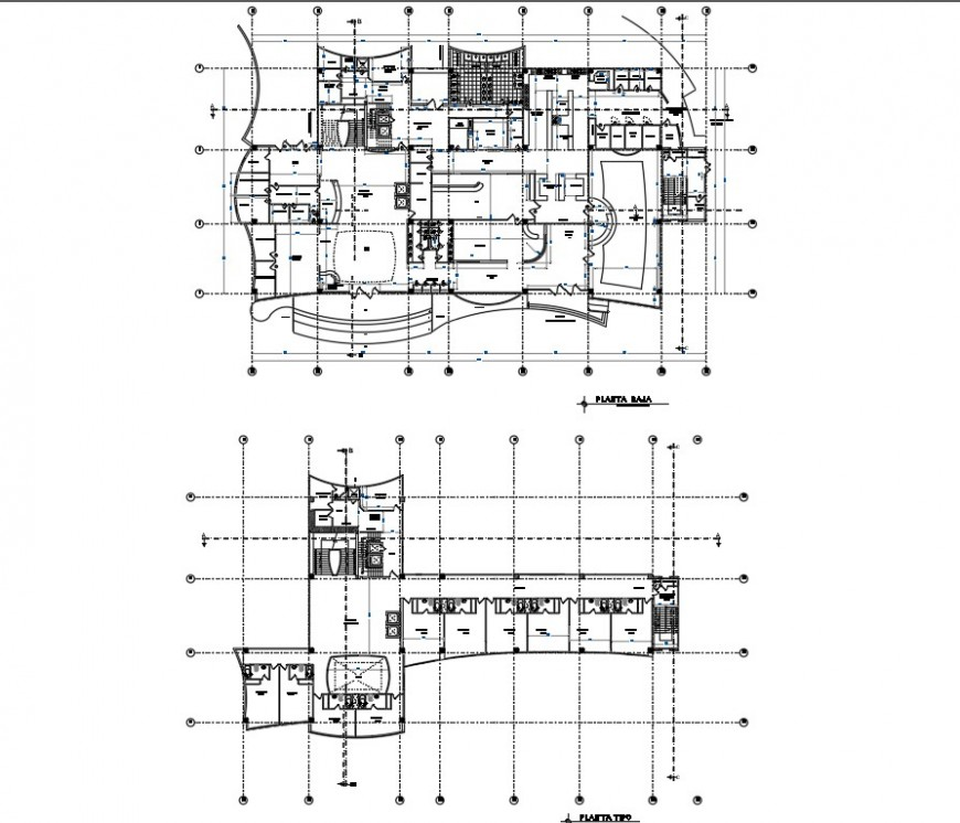 Detail Business hub working plan