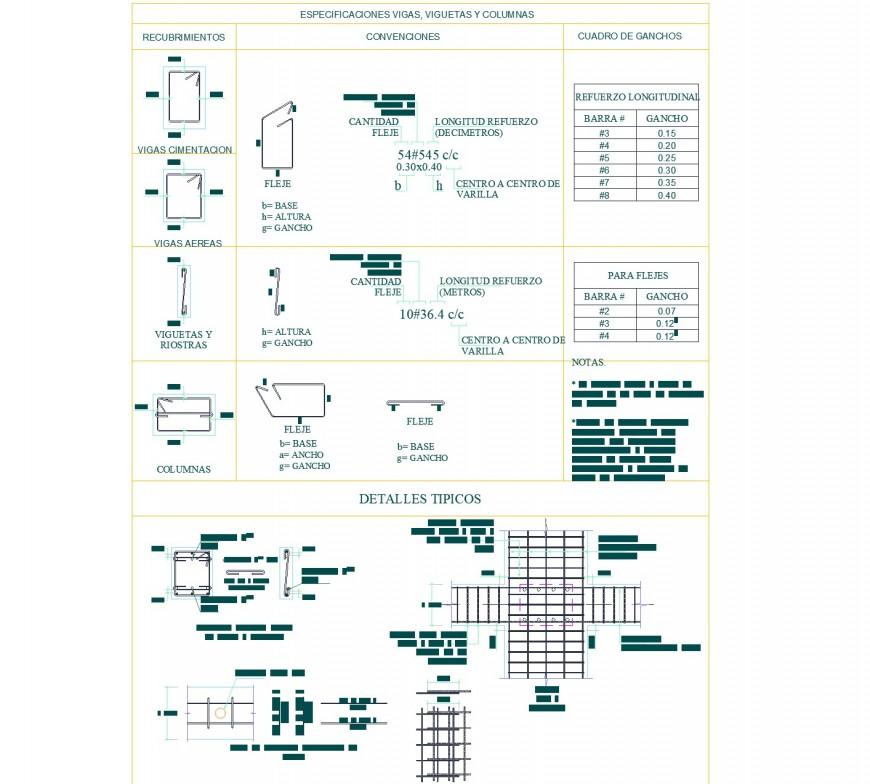 Detail Structural housing plan layout file