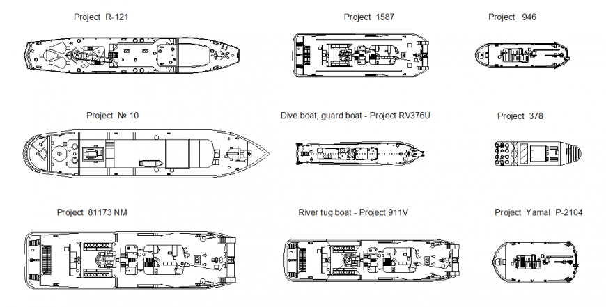 Dive boat, guard boat - Project detail
