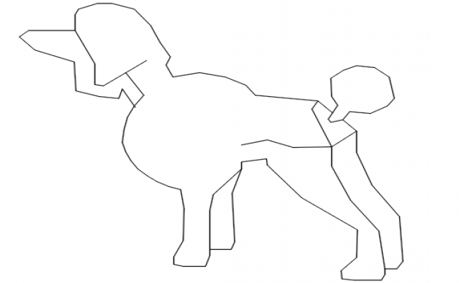 dog dwg file