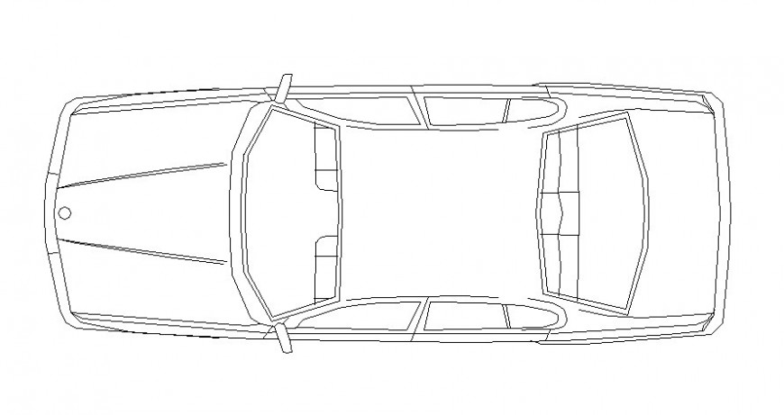 Drawing of car transportation units dwg file