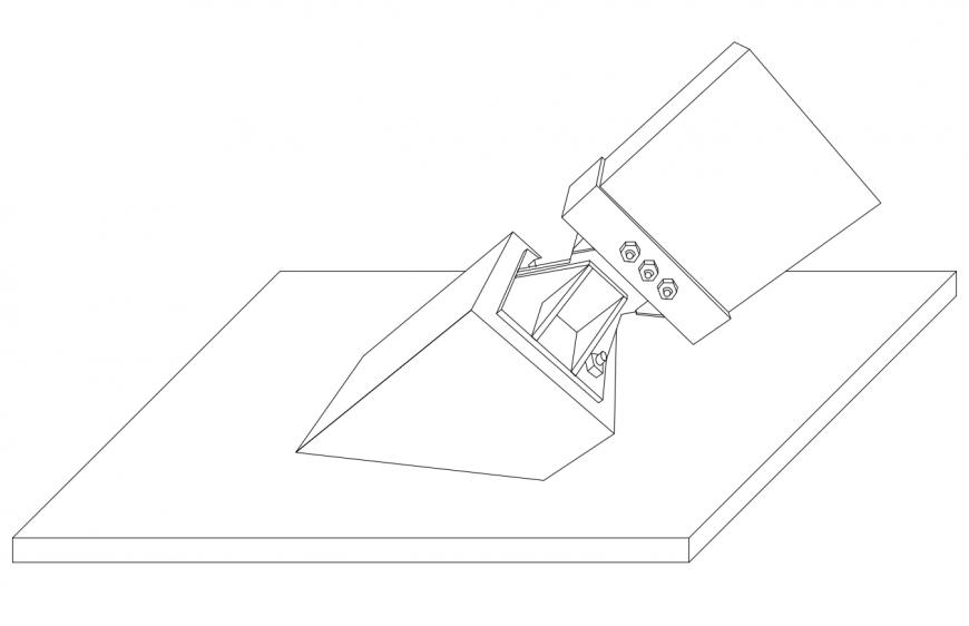 Drawing of graduation workshop 2d model details AutoCAD file