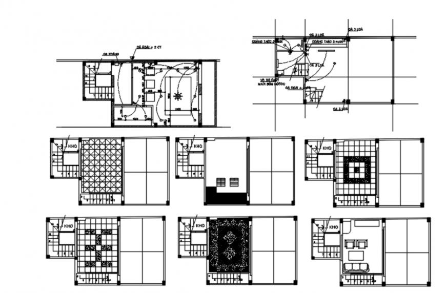 Drawing of house design 2d details block autocad file