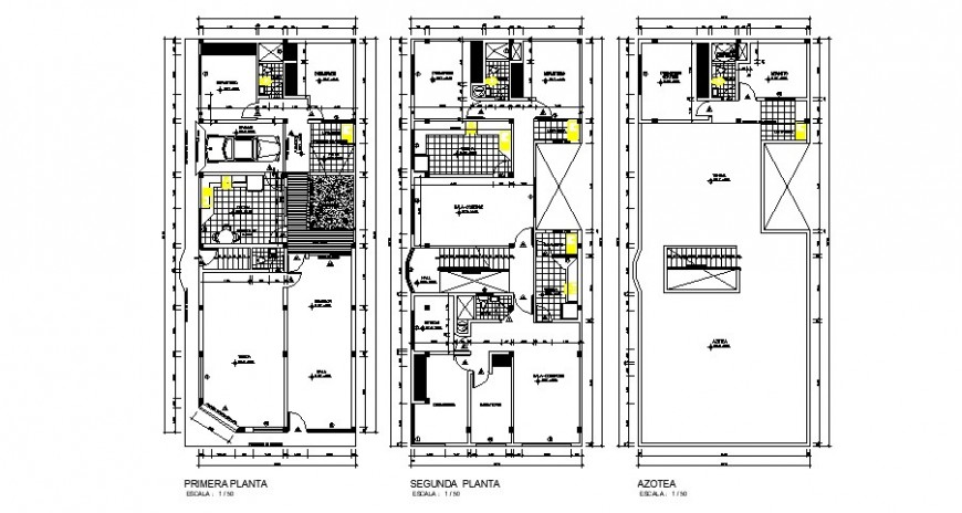 Drawing of house details 2d view layout plan autocad software file