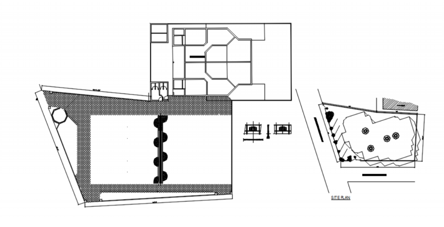 Drawing of house details AutoCAD file