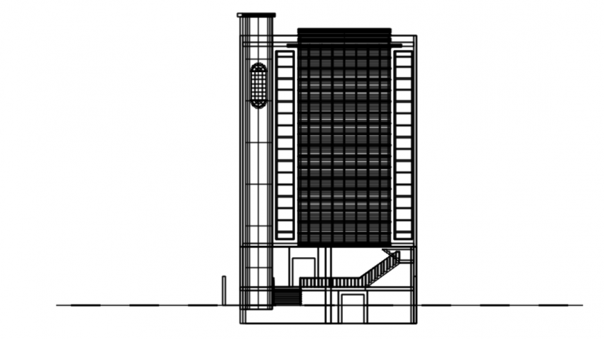 Drawing of plaza details AutoCAD file