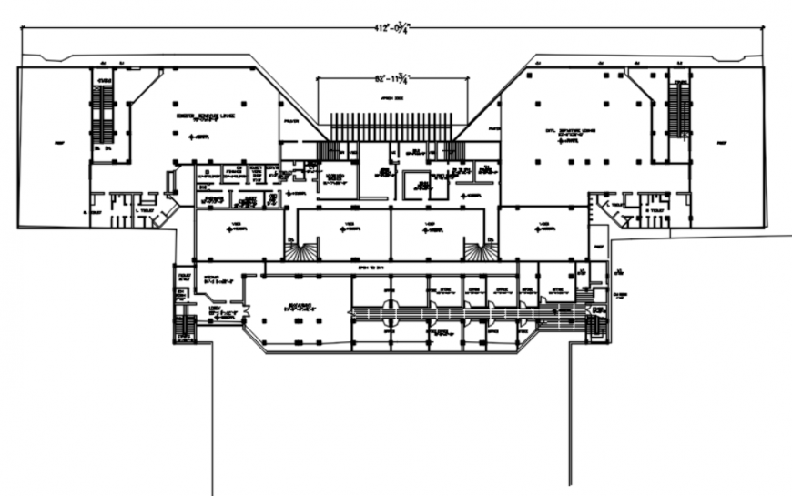 Drawing of Quetta airport building AutoCAD file