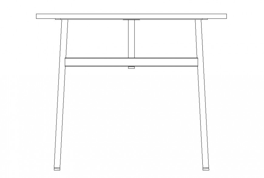 Drawing of table furniture 2d block autocad file