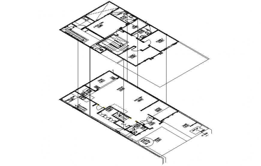 Drawings details of apartment units autocad software file
