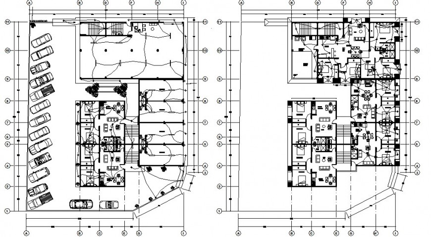 Drawings details of electrical installation in apartment dwg autocad file
