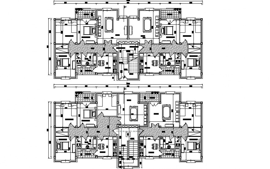 Drawings details of housing bungalow dwg autocad software file