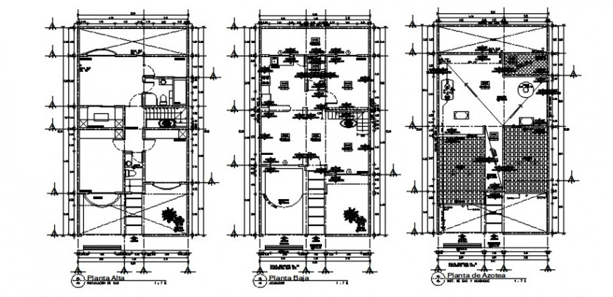 Drawings details of living apartment proposed plan dwg autocad file