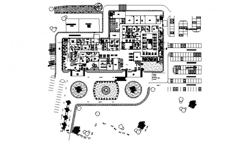 Drawings of commercial building units 2d view autocad software file