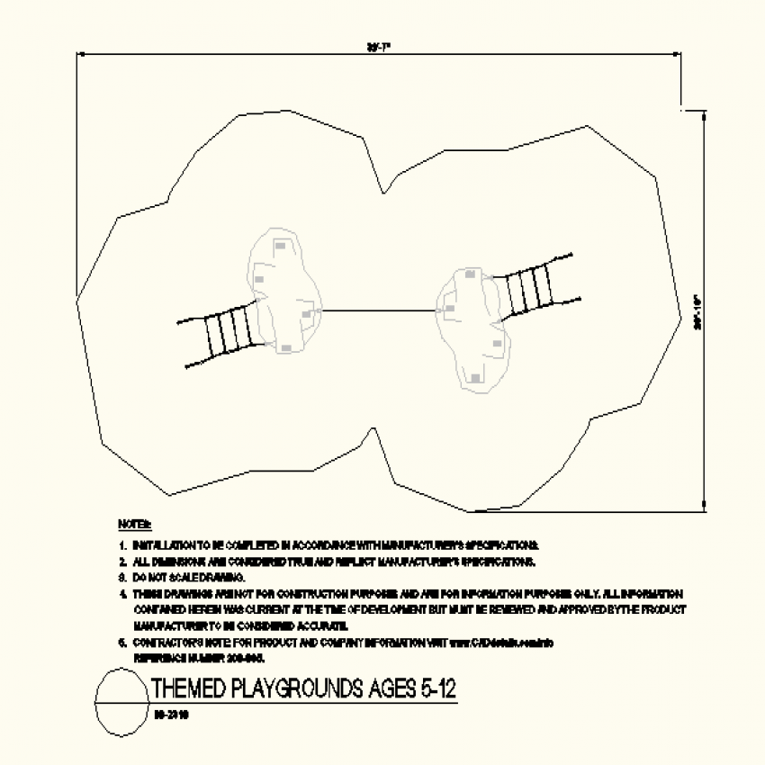 Dual park layout plan