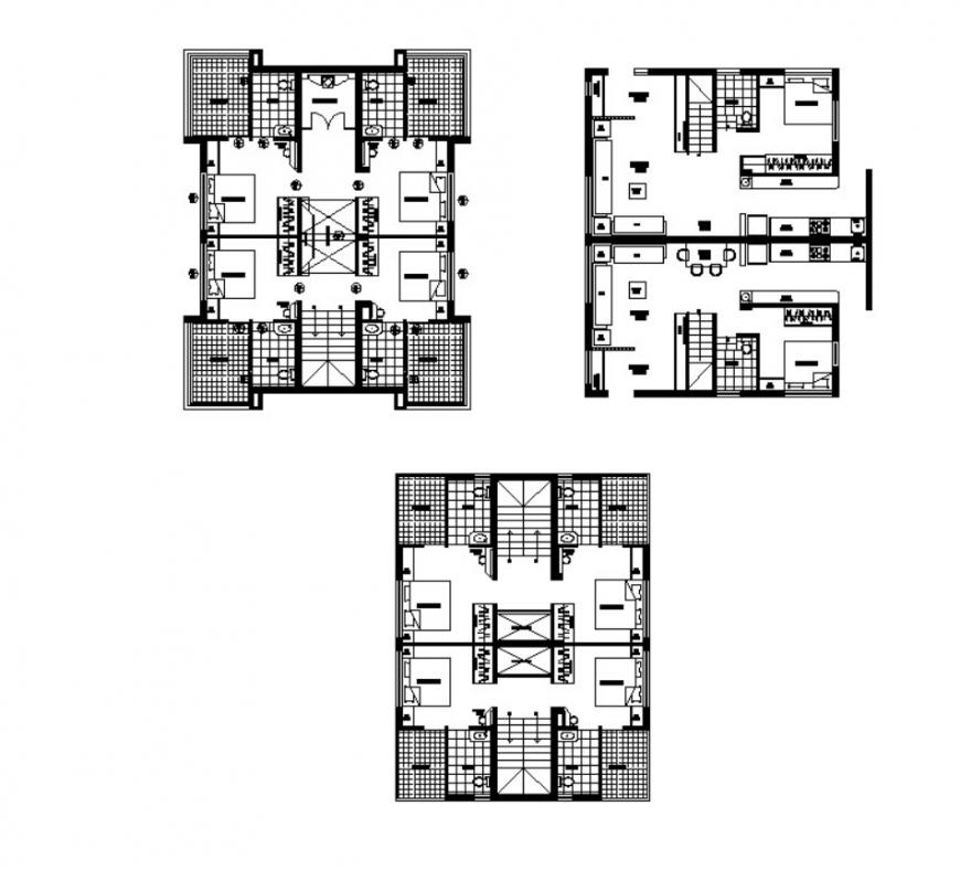 Dwg file of client house 2d details