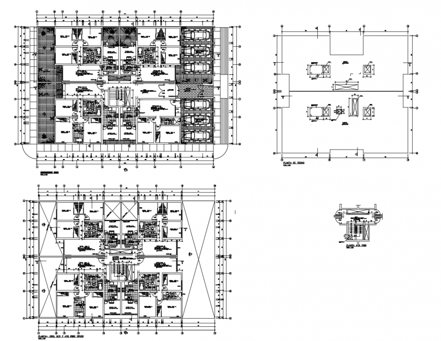 dWG file of high rise building