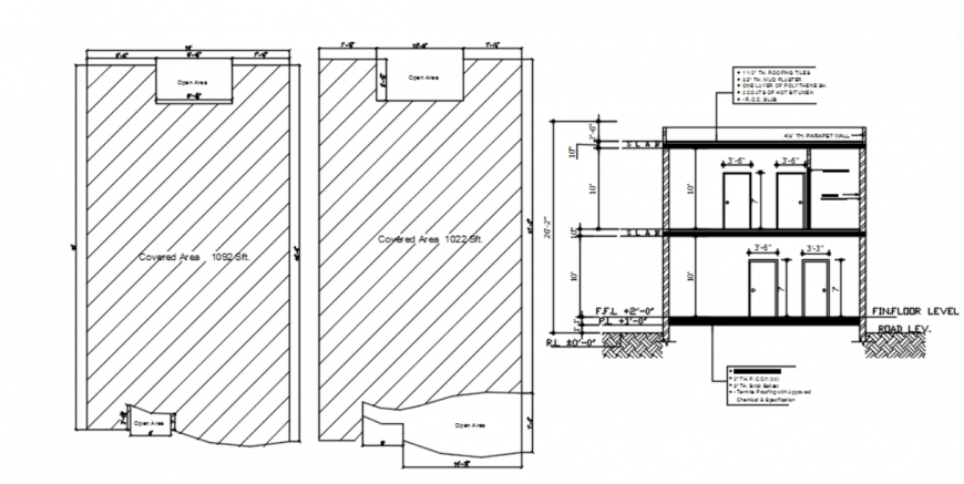 DWG file of marla final house detail