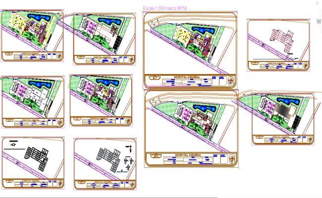 Hospital plan design project