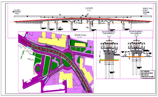 Construction Bridge Detail