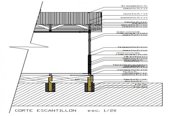 Wood construction details