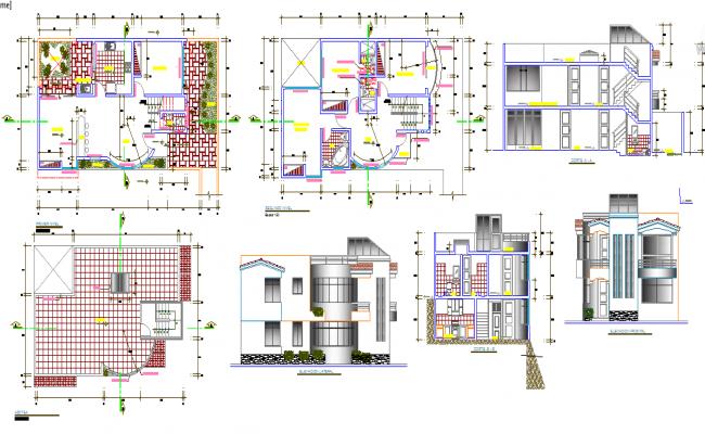 Modern House design plan
