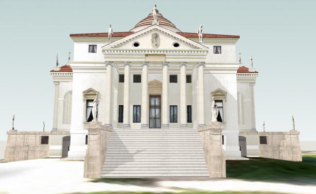 Modern 3D  Villas  design