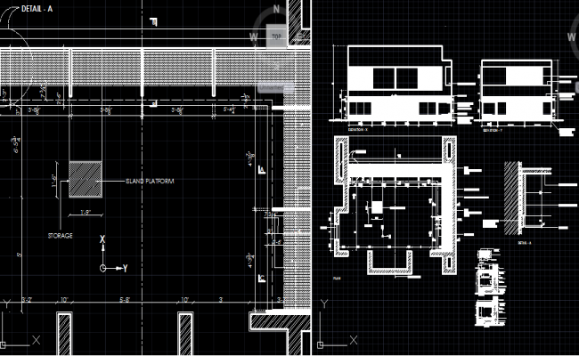 Kitchen Working Drawing Dwg Kitchen Plan Detail Dwg