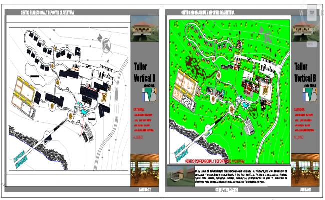 Recreation Center plan