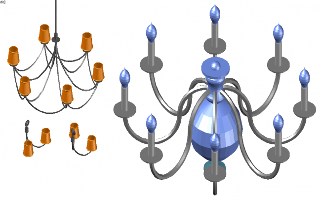 3D Electric Light