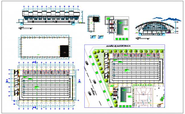 Sport Area Design plan