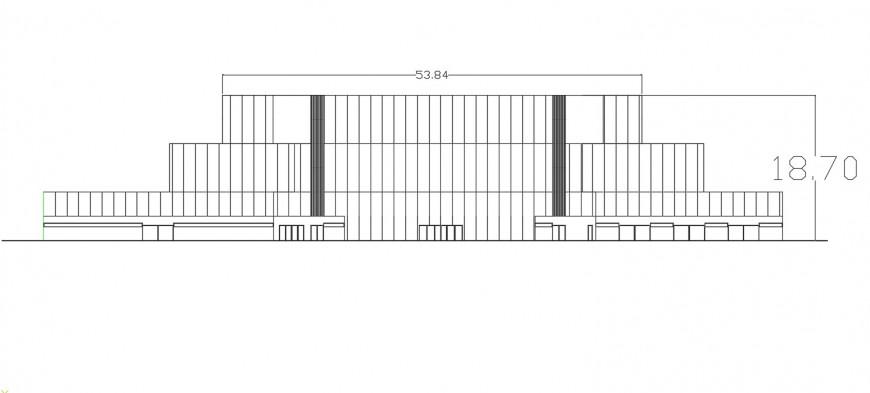 Ecumenical center autocad file