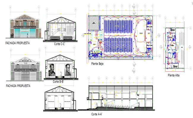 Auditorium Plan detail