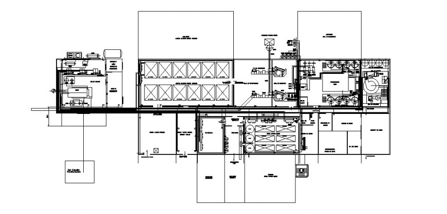 Egg processing piping industrial plant distribution cad drawing details dwg file