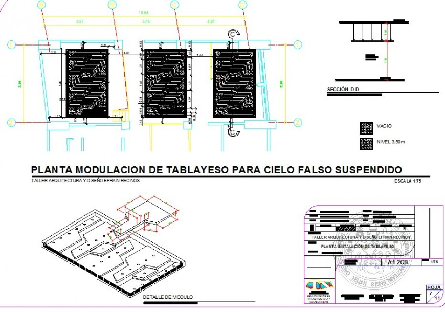 Electrical block detail 2d view layout file in dwg format