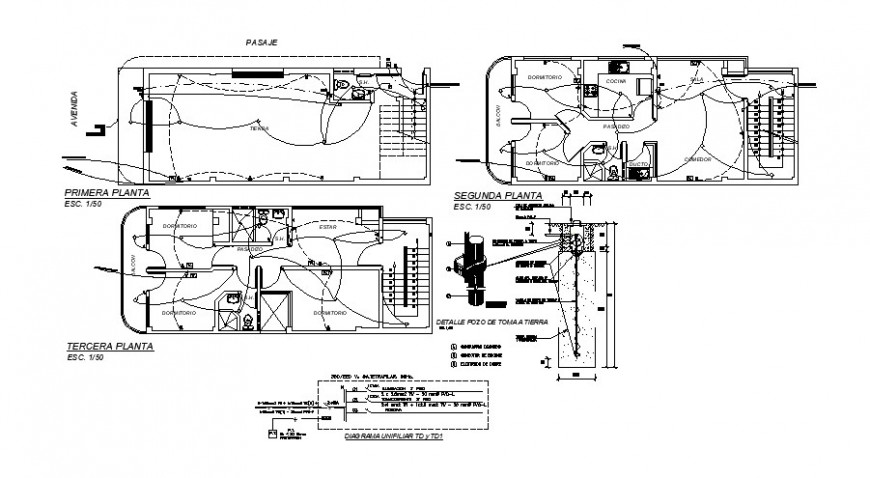 Electrical drawings layout plan details in autocad software file