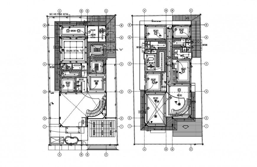 Electrical mill park layout plan dwg autocad software file