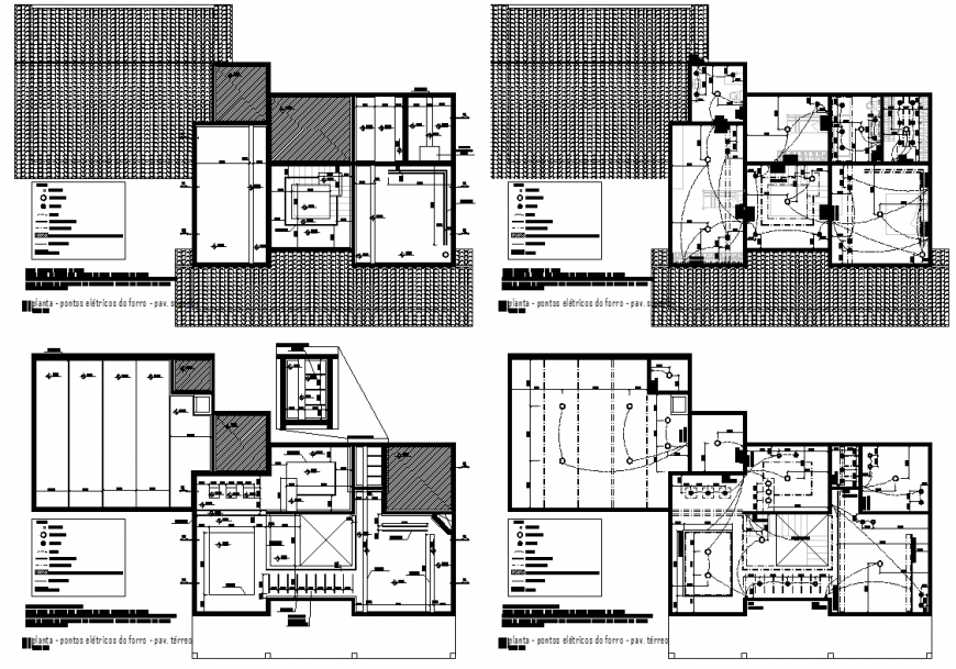 Electrical penthouse planning autocad file