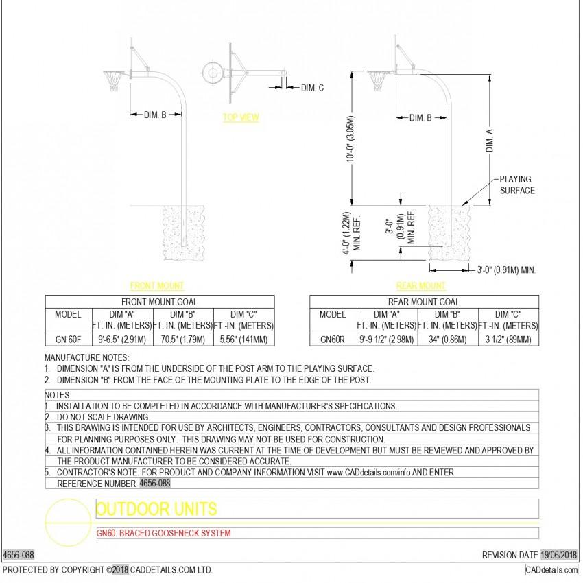 Elevation outdoor unit autocad file